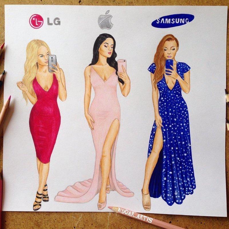 Художник пофантазировал, как бы выглядели известные бренды, если бы были людьми (11фото)