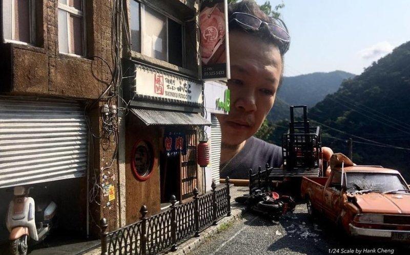 Тайваньский дизайнер создал мир своих воспоминаний в миниатюре (33фото)