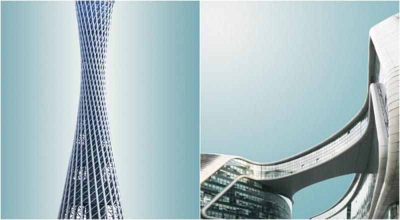 Геометрический Китай на снимках Криса Провуста (22 фото)