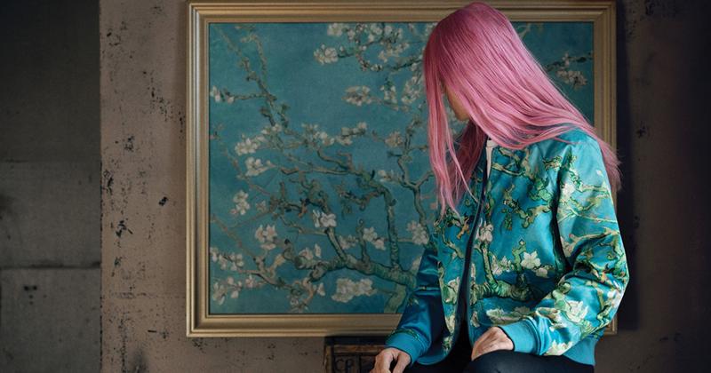 Модный бренд выпустил коллекцию обуви от Ван Гога (21фото)