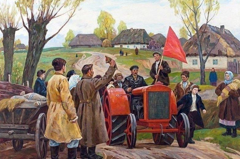 Трактор и живопись (30фото)