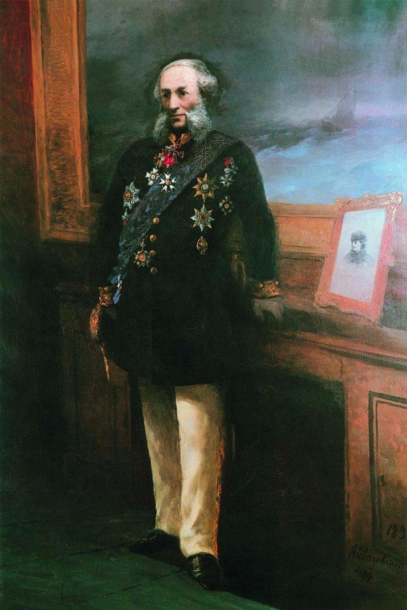 Почему две картины Айвазовского по сей день запрещено показывать в России (10фото)