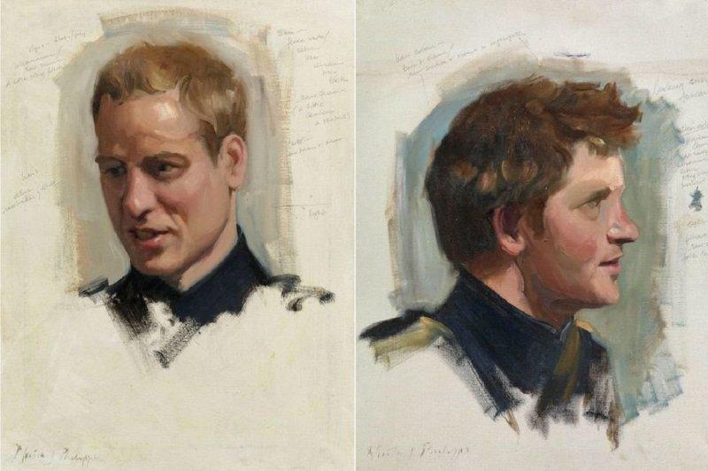 Портреты королевской семьи (11фото)
