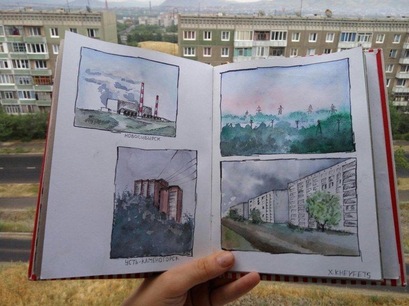 Городские зарисовки, которые вы ещё не видели (29фото+1тянучка)