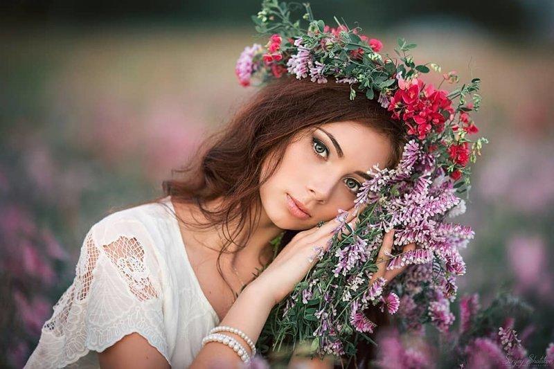 Русские девушки в фотографиях Сергея Шацкова (105фото)