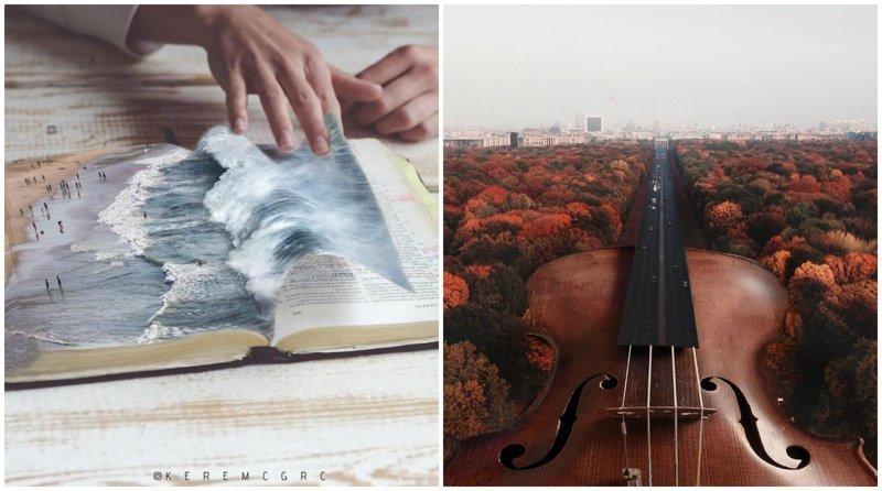 Юный художник создает безумные иллюстрации, которые уносят в мир сюрреализма (47фото)