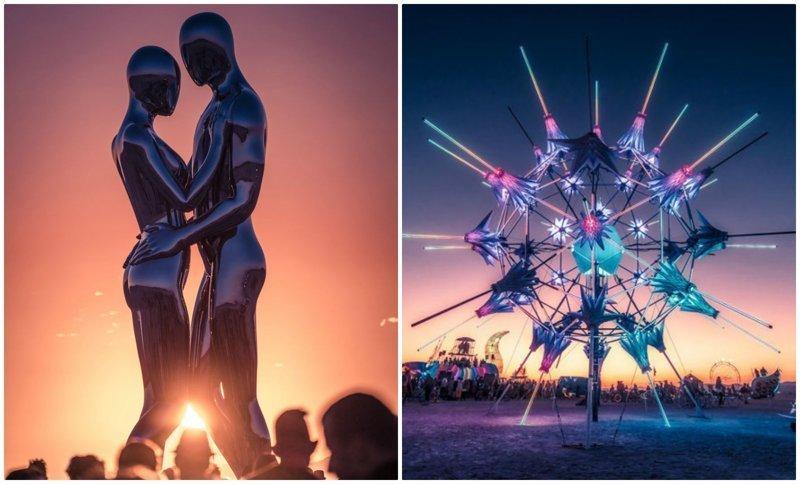 Потрясающие виды Burning Man 2018 в объективе французского фотографа (35фото)