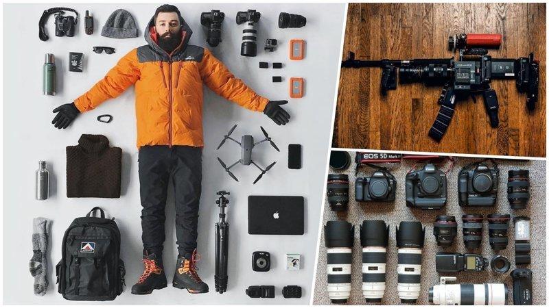Когда фотографы начинают хвастаться своей техникой (27фото)