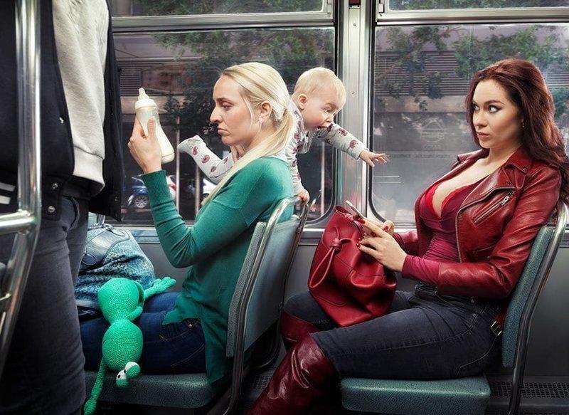 20 остроумных и креативных снимков от голландского фотографа, у которого явно есть чувство юмора (23фото)
