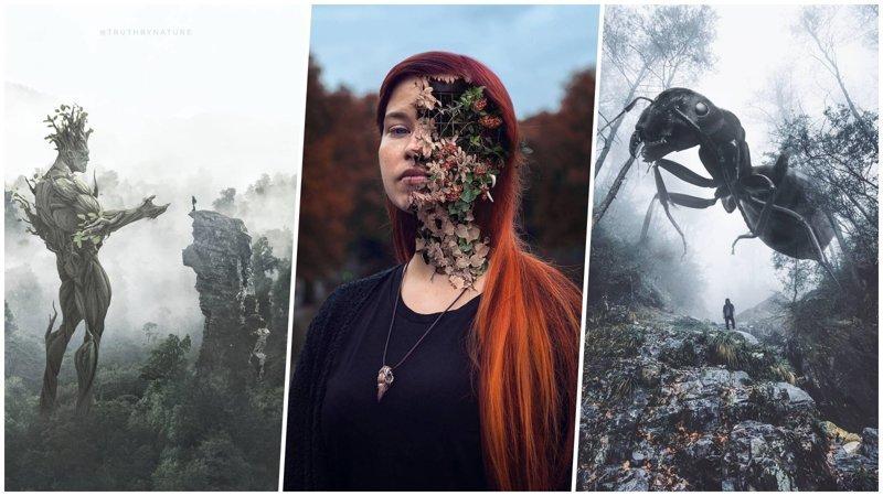 Шедевры, которые создают настоящие мастера фотошопа (31фото)