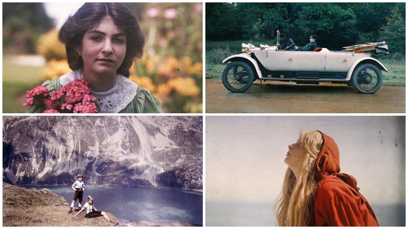 19 архивных автохромов: начало цветной фотографии (20фото)