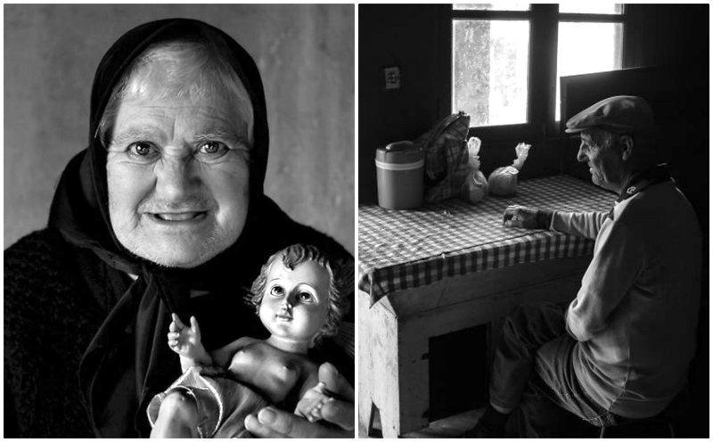 Фотограф собрал истории стариков, живущих в полном одиночестве (12фото)