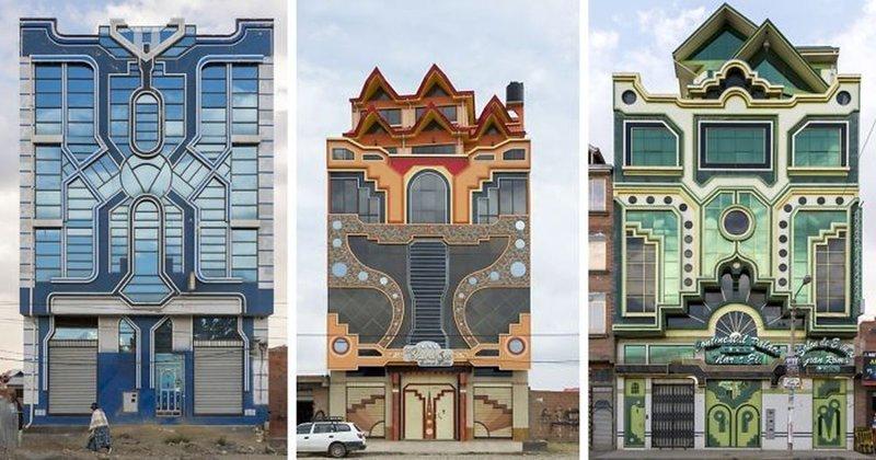 Боливийский город Эль-Альто: яркое слово в архитектуре (23фото)
