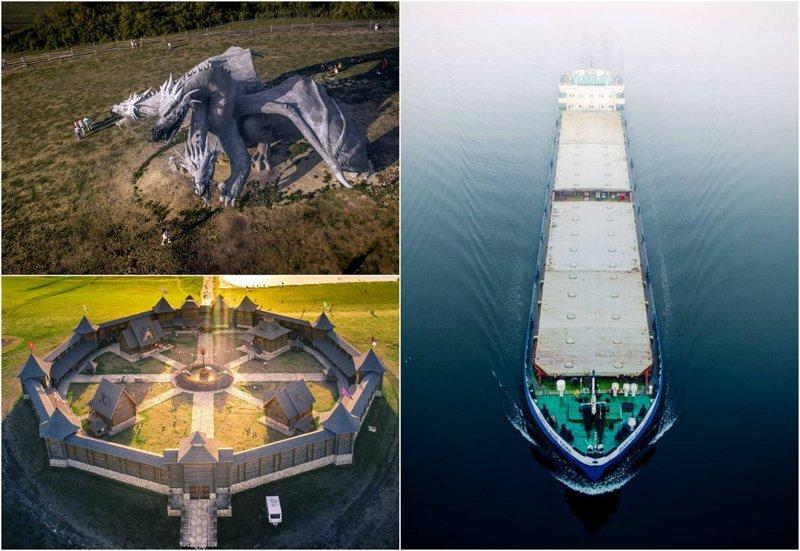 Россия сверху: аэрофотоснимки Игоря Огарёва (26фото)