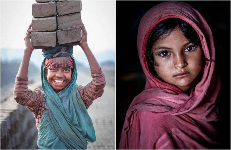 Выразительные детские портреты от фотографа Моу Айши (26фото)
