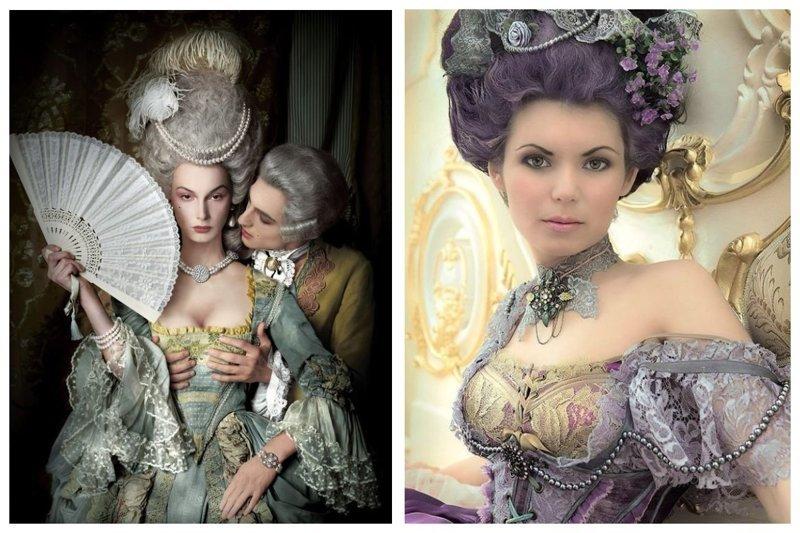 Невероятно изящные фотосессии в стиле Марии-Антуанетты (31фото)