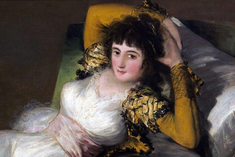 Одетая и раздетая герцогиня Альба, а также ее современная наследница (20фото)