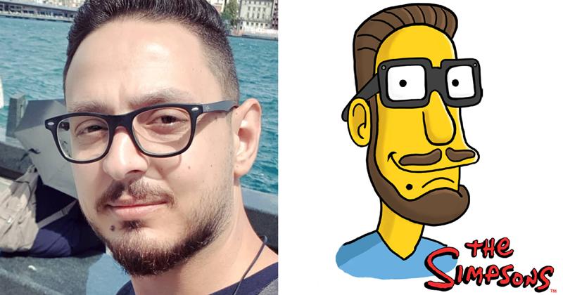 Аниматор из Ливана нарисовал себя в стиле 50 известных мультфильмов и видеоигр (52фото)