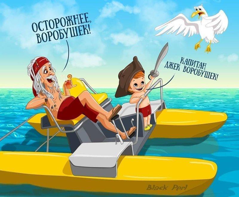 Российская художница продолжает отправлять культовых персонажей из кино и мультфильмов на пенсию (10фото)