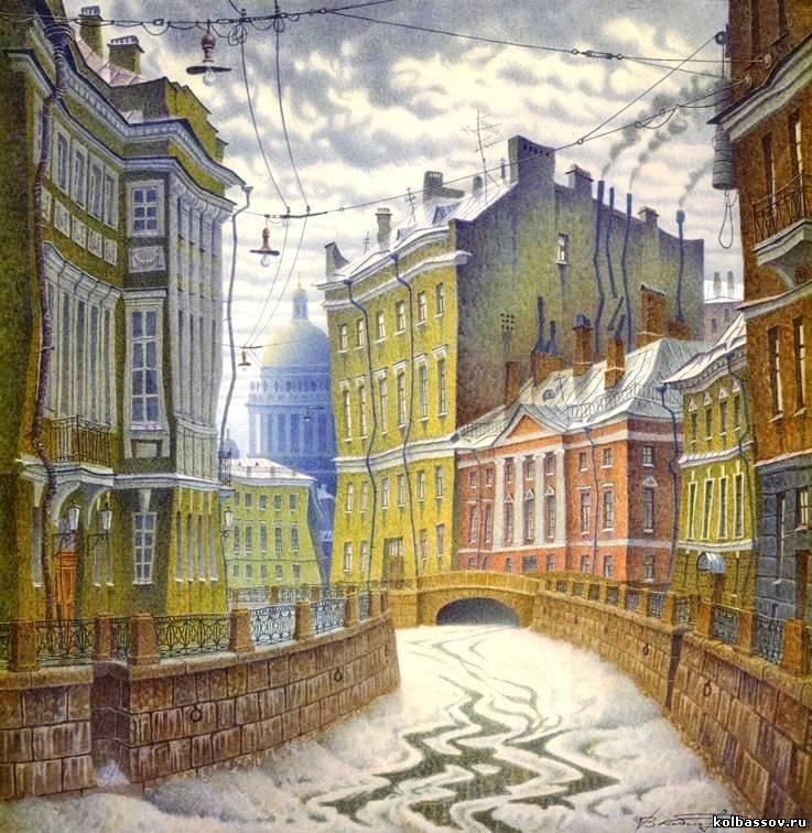 Санкт-Петербург - Осень - Мультик (10фото+1видео)