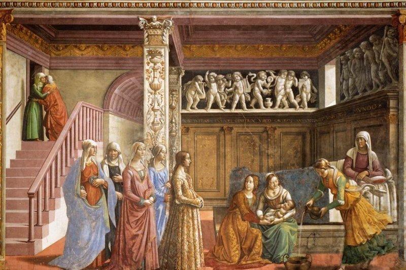 Девочка из средневековья в гостях у Девы Марии (5фото)
