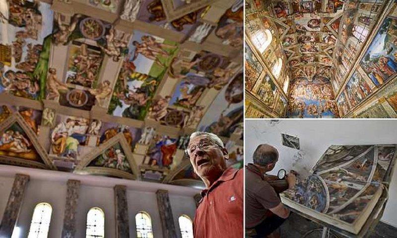 Мексиканский дизайнер бросил вызов Микеланджело (10фото)