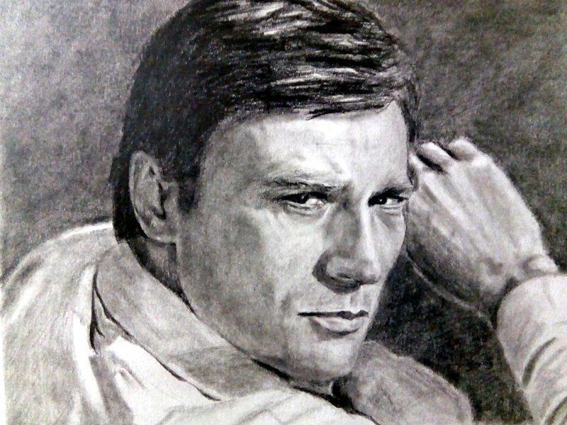 Советские актёры простым карандашом (11фото)
