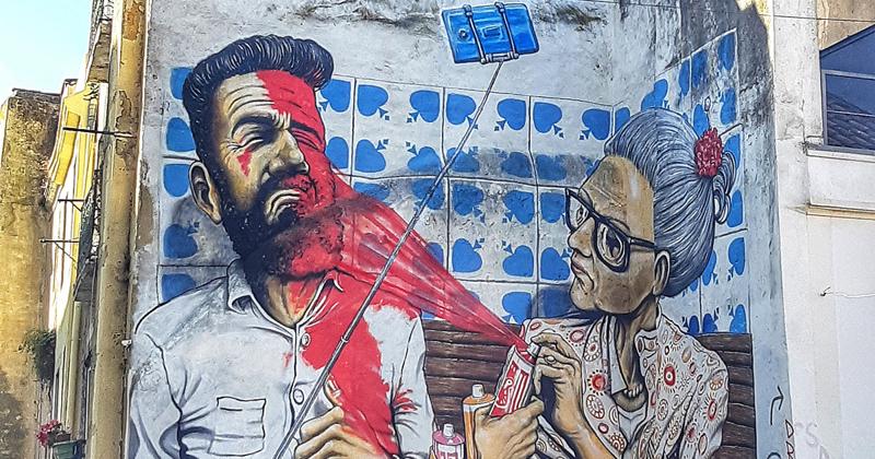 Искусство в городе: власти разрешили уличным художникам разрисовать Лиссабон (21фото)