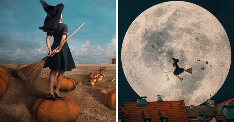 Как могла бы выглядеть жизнь современной ведьмы (15фото)