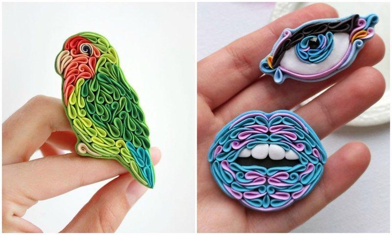 Русская мастерица создает чудесные изделия из глины в уникальной технике (29фото)