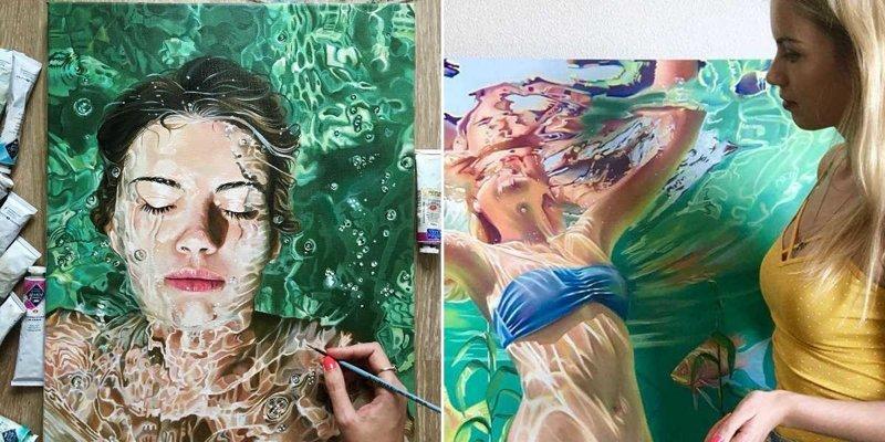 Поразительно красивые картины маслом от художницы Анастасии Морской (11фото)