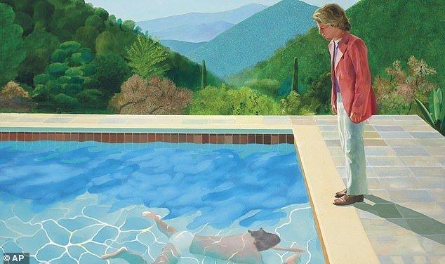 Художник Дэвид Хокни побил мировой рекорд, продав свое полотно при жизни за 90 млн. долларов (6фото)