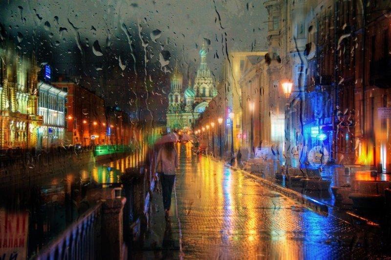 Дождливые фотографии Эдуарда Гордеева (27фото)