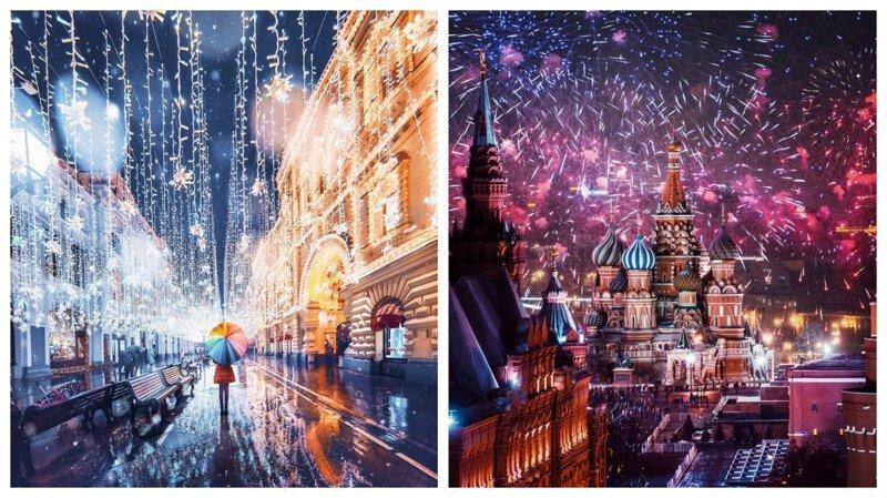 25 фотографий зимней столицы России (26фото)