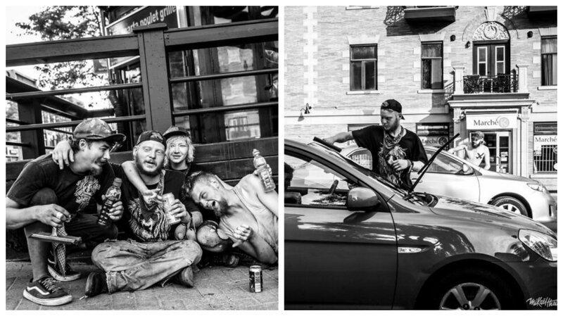 Фотопроект: жизнь уличных автомойщиков в Монреале (40фото)