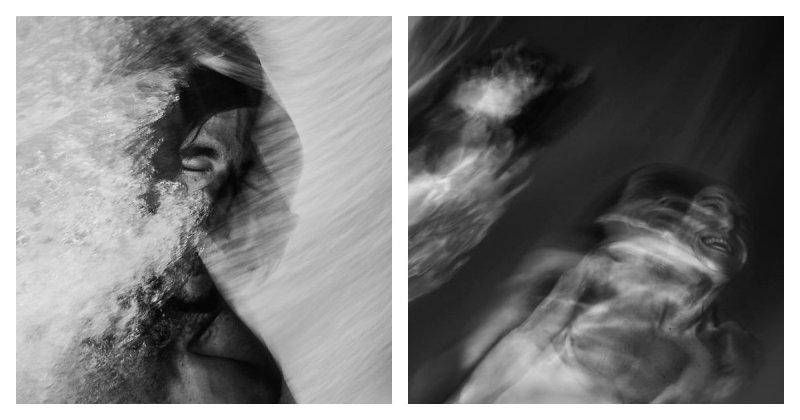 Портреты боди-серфингистов, похожие на призраков под водой (22фото+1видео)