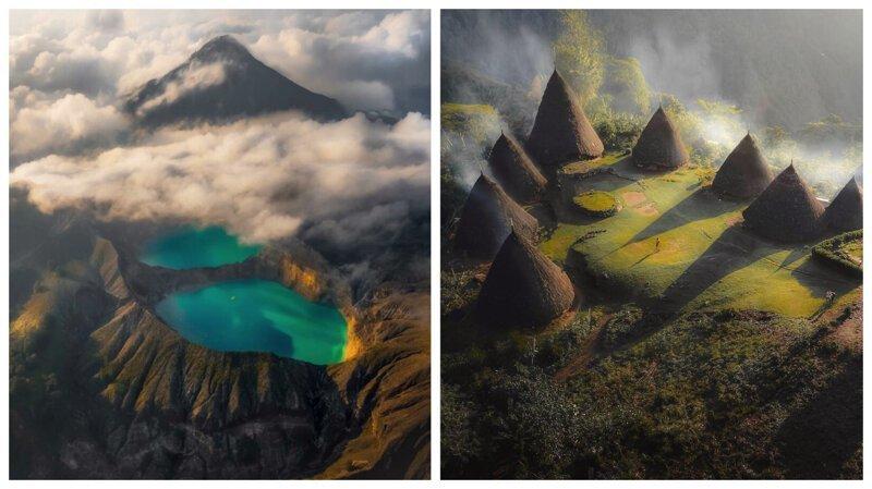 Юго-Восточная Азия с высоты птичьего полета: фотографии с дрона (35фото)