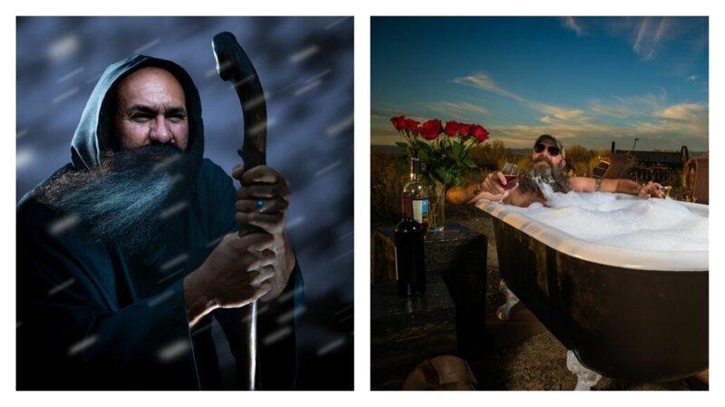 Вот что происходит, когда маленький клуб бородачей хочет себе большой календарь (13фото)