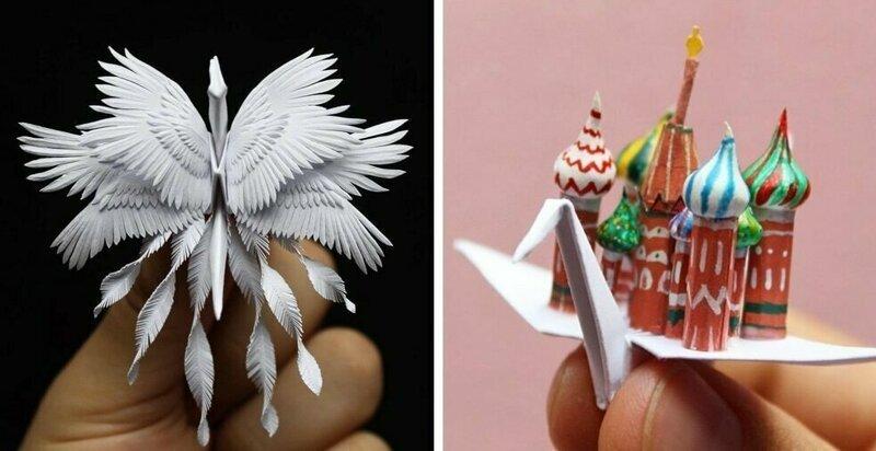 Австралиец сделал 1000 невероятно красивых бумажных журавликов, которые поражают своей утончённостью (31фото)