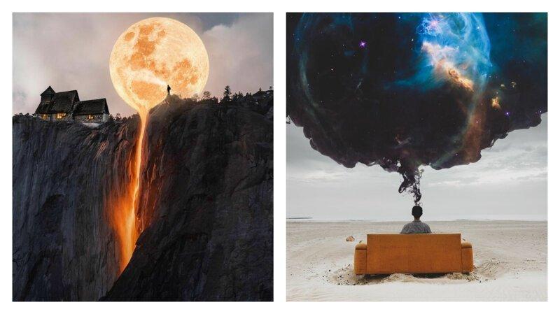 Сны о чем-то большем: цифровая живопись от Мурата Акёля (31фото)
