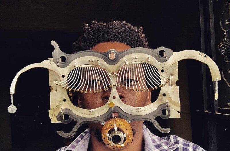 Афрофутурист из Кении предлагает взглянуть на мир через необычные очки (37фото)