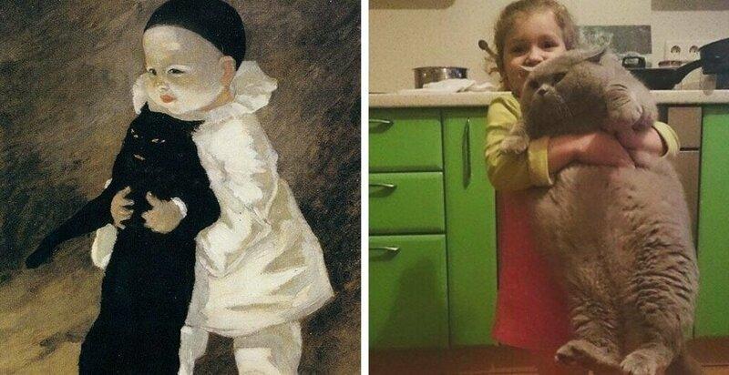 Я художник, я так вижу: люди воссоздают великие картины, используя лишь свою фантазию (22фото)
