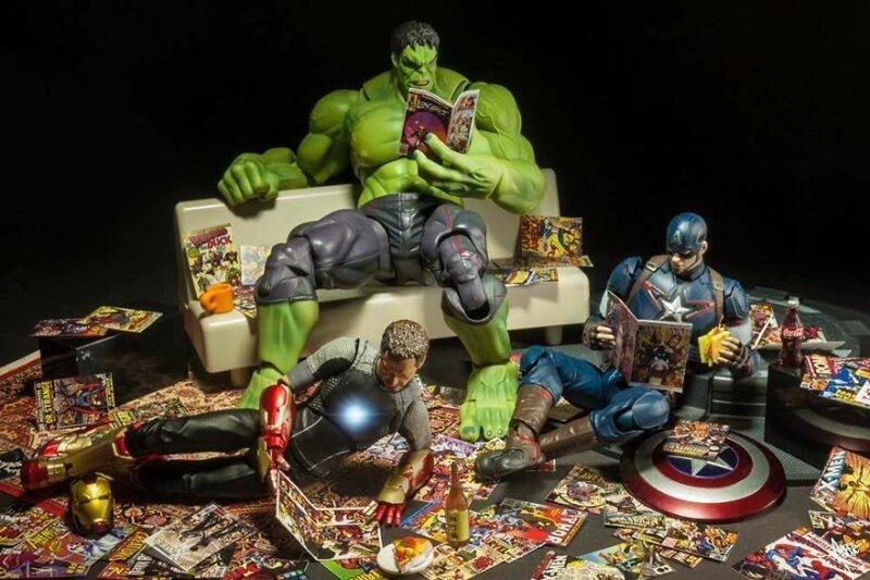 Повседневная жизнь супергероев Marvel (15фото)