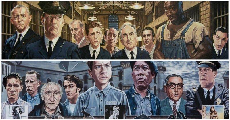 Иллюстрации к культовым фильмам от художника Джастина Рида (24фото)