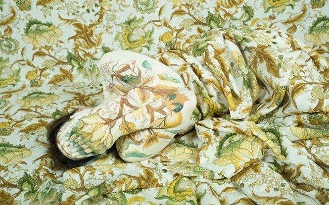 Эту художницу из Перу называют девушкой-хамелеоном, из-за того, что она может слиться с любым фоном (37фото)