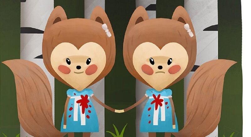 Животный ужас: художник перерисовывает героев ужастиков в виде милых зверюшек (9фото)