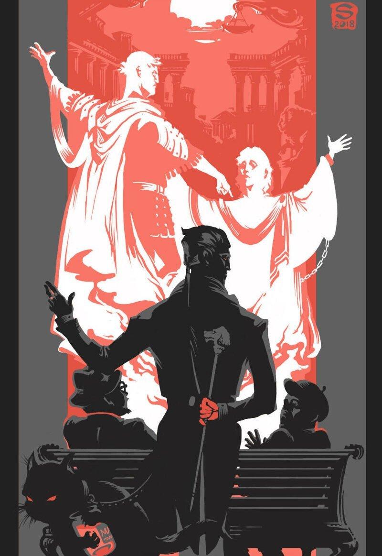 Великолепные иллюстрации к роману «Мастер и Маргарита» от Sceith-а (12фото)