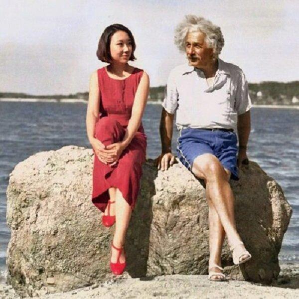 Китайская художница вставляет себя в культовые фотографии знаменитостей (16фото)
