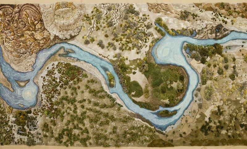 Долой типичные ковры: аргентинка мастерит ковры в виде природного ландшафта (22фото)
