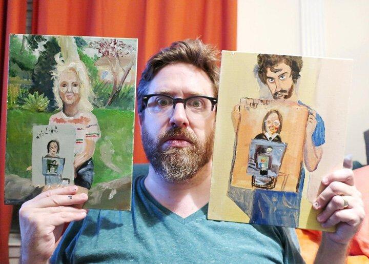 Ужасная по мнению художницы картина вдохновила всех на флешмоб (14фото)